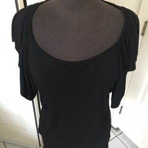Ralph Lauren Black simple dressy top